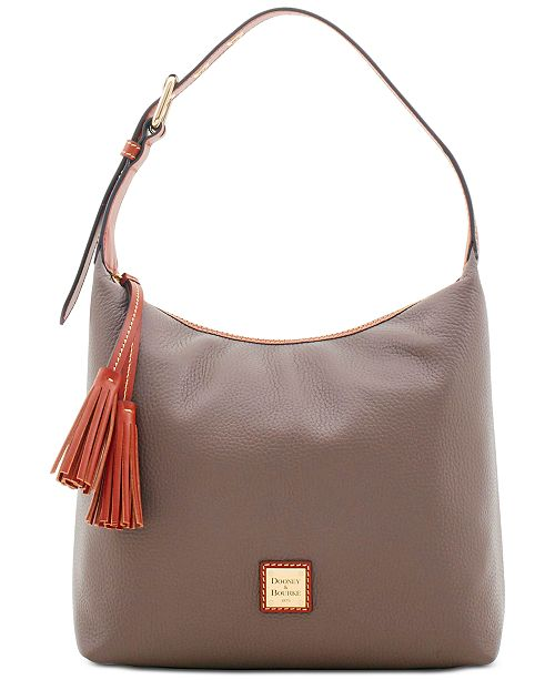 Dooney & Bourke Patterson Leather Paige Pebble Leather Shoulder Bag