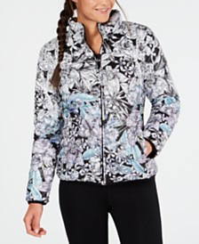 Calvin Klein Performance Printed Reversible Jacket