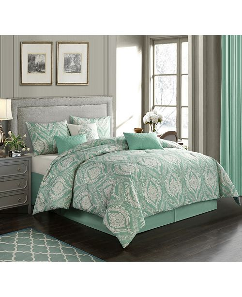 Nanshing Safara 7-Piece Queen Comforter Set