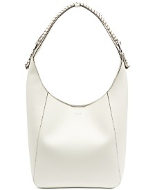 DKNY Bethune Leather Chain Hobo, Created for Macy's