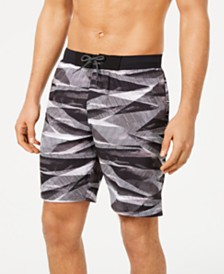 "Nike Men's Line Up Vital Regular-Fit 9"" Swim Trunks, Created for Macy's"