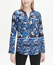 Calvin Klein Printed Utility Shirt