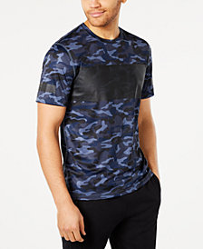 ID Ideology Men's Colorblocked Camo-Print T-Shirt, Created for Macy's