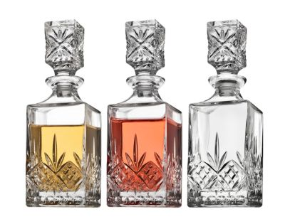 Dublin Set of 3 Mini Decanters