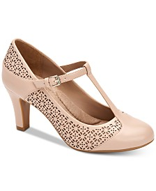 Giani Bernini Vineza Memory Foam Mary Jane Pumps, Created For Macy's