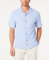d8423b672a28fb Tommy Bahama Men's Weekend Tropics Silk Shirt, Created for Macy's