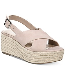 Bar III Bianka Wedge Sandals, Created for Macy's