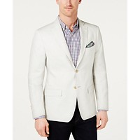 Deals on Lauren Ralph Lauren Classic Fit Ultra-Flex Solid Linen Sport Coat