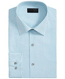 AlfaTech by Alfani Men's Slim-Fit Performance Stretch Easy-Care Dress Shirt, Created for Macy's