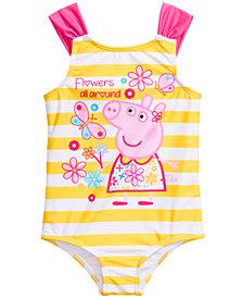 Peppa Pig Toddler Girls 1-Pc. Peppa Pig Graphic Swimsuit