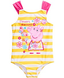Peppa Pig Toddler Girls 1-Pc. Peppa Pig Graphic Swimsuit