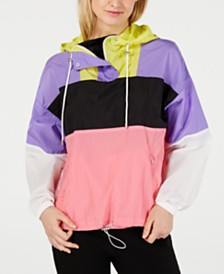 ASTR the Label Sawyer Colorblocked Windbreaker