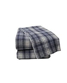 Plaid Flannel Sheet Set King