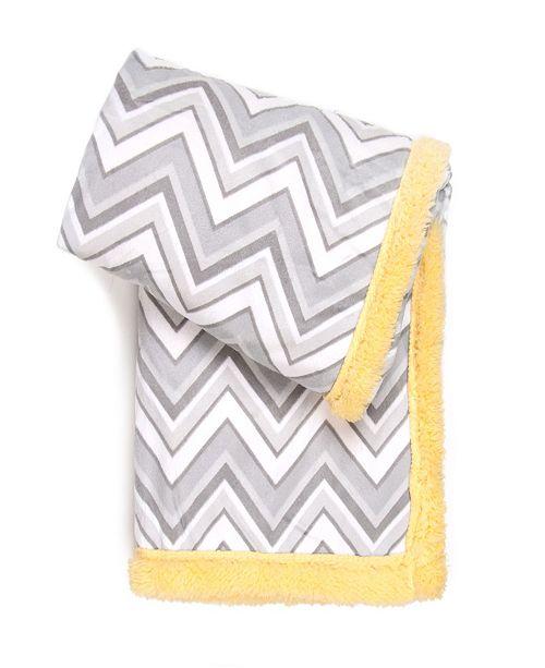 Sleeping Partners International. INC Tadpoles Double Layer Printed Baby Blanket