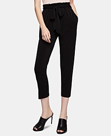 Tapered Tie-Waist Pants