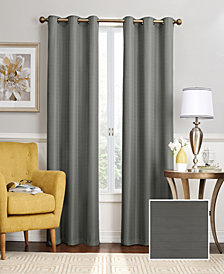 """Eclipse Nikki Thermaback Blackout 40"""" x 84"""" Curtain Panel"""