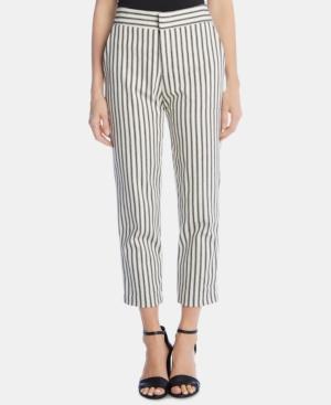 Karen Kane Pants STRIPED CROPPED PANTS