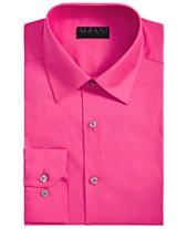 d2395c3b4f AlfaTech by Alfani Men s Slim-Fit Performance Stretch Easy-Care Solid Dress  Shirt