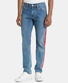 Calvin Klein Jeans Men's  Slim-Fit Stretch Taped Jeans