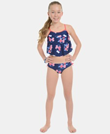 Tommy Hilfiger Big Girls 2-Pc. Lorianne Tankini