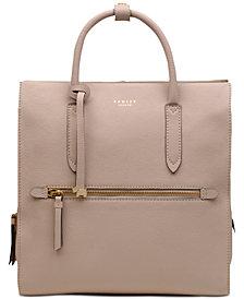 Radley London Arlington Court Leather Zip-Top Backpack