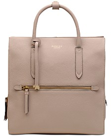 Radley London Arlington Court Leather Zip-Top Backpack