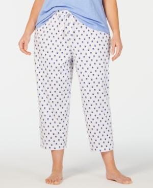 Charter Club Plus Soft Knit Cotton Pajama Pants
