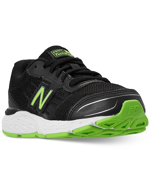 8ace25eb1665 ... New Balance Little Boys  680v5 Wide Width Running Sneakers from Finish  ...