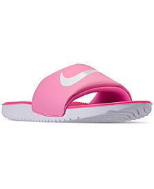 Nike Girls' Kawa Slide Sandals from Finish Line