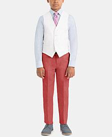 Lauren Ralph Lauren Little & Big Boys Formal Linen Vest & Pants Separates