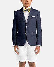 Lauren Ralph Lauren Little & Big Boys Linen Occasion Wear Suit Jacket & Shorts Separates