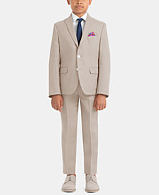 Lauren Ralph Lauren Little & Big Boys Solid Linen Suit Jacket & Pants Separates
