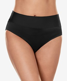 Miraclesuit Tummy-Control Fold-Over Brief Bottoms
