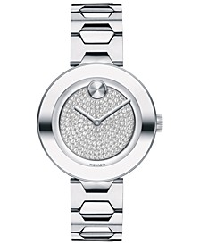 Women's Swiss BOLD Stainless Steel Bracelet Watch 32mm