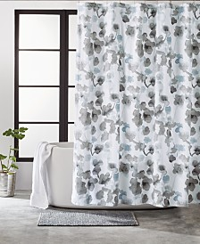 DKNY City Bloom Shower Curtain