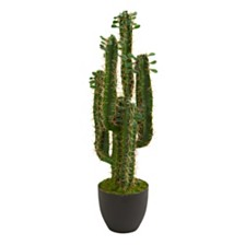 Nearly Natural 2.5' Cactus Artificial Plant