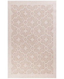 "KAS Farmhouse Mosaic 6'7"" x 9'6"" Indoor/Outdoor Area Rug"