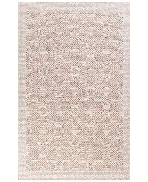 "Kas CLOSEOUT! Farmhouse Mosaic 5' x 7'7"" Indoor/Outdoor Area Rug"
