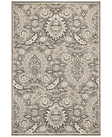 "KAS Lucia Artisan 2750 Grey 6'7"" x 9'6"" Indoor/Outdoor Area Rug"