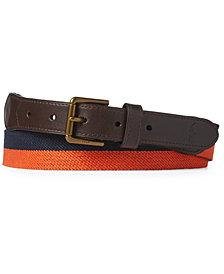 Polo Ralph Lauren Men's Striped Twill Belt