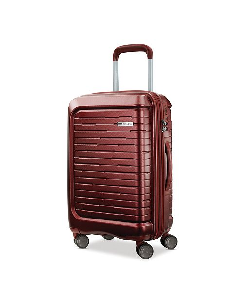 """Samsonite Silhouette 16 20"""" Hardside Expandable Carry-On Spinner Suitcase"""