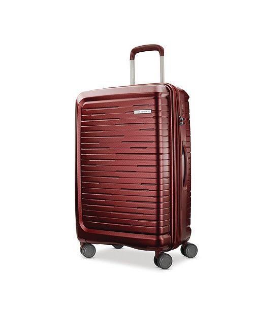 "Samsonite Silhouette 16 25"" Hardside Expandable Spinner Suitcase"