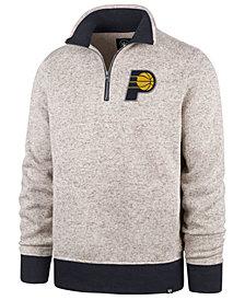 '47 Brand Men's Indiana Pacers Kodiak Quarter-Zip Pullover