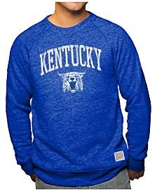 Retro Brand Men's Kentucky Wildcats Arch & Logo Crew Sweatshirt
