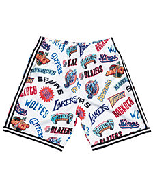 Mitchell & Ness Men's NBA ALL Over Collection Shorts