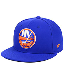 Authentic NHL Headwear New York Islanders Basic Fan Fitted Cap