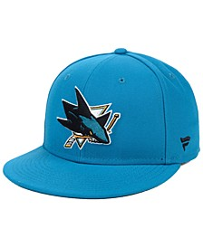 San Jose Sharks Basic Fan Fitted Cap