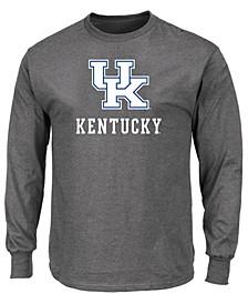 Men's Big & Tall Kentucky Wildcats Big Logo Long Sleeve T-Shirt