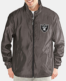 G-III Sports Men's Oakland Raiders The Executive Player Front Zip Jacket