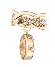 Woman's 1040GPCH Charm Bracelet Watch